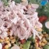 Salada de frango com mistura Mesclum (a partir dos 24 meses)