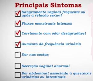 Principais Sintomas